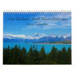 NZ Landscapes 2009 Calendar