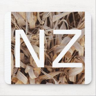 NZ New Zealand Logo Mouse Pad