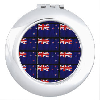 NZ Patriotic Flag of New Zealand for Kiwis Compact Mirror