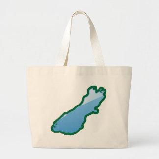 NZ South island Large Tote Bag