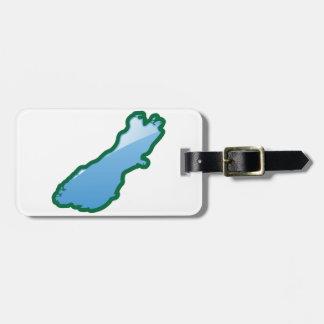 NZ South island Luggage Tag