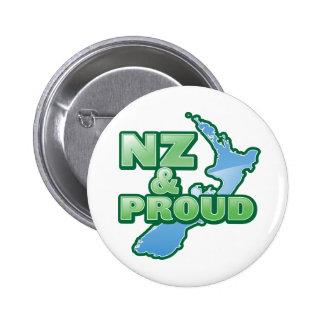 NZ y KIWI ORGULLOSO Nueva Zelanda Pins