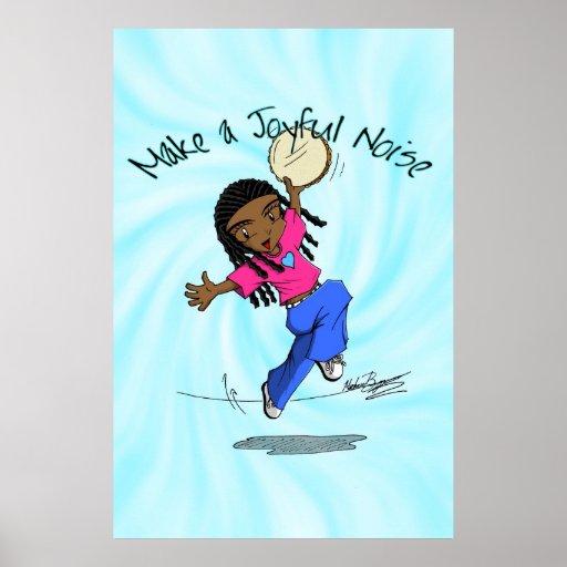 Make A Joyful Noise Design Clip Art
