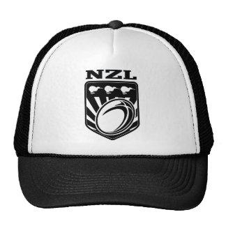 nzl de Nueva Zelanda del escudo del kiwi de la bol Gorra