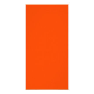 O02 Orange Color Card
