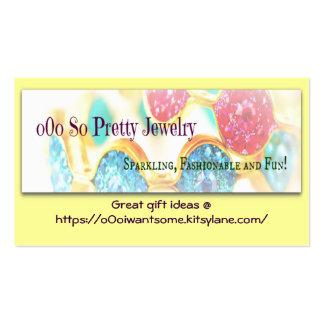 o0o So Pretty Jewelry - ILoveMyKnitsNCrafts BC Business Card