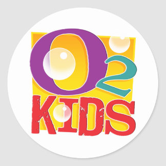O2 Kids Stickers