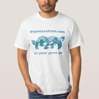 O4P Camo Aqua 2 - T-shirt
