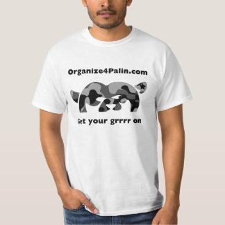 O4P - Camo Black T-shirt