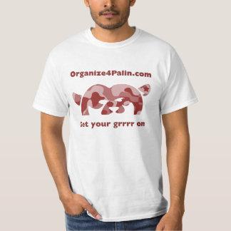 O4P Camo - Red T-Shirt