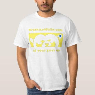 O4P Yellow (large logo) T-Shirt