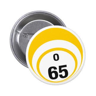 O65 Bingo Ball button