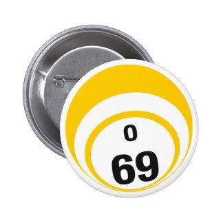 O69 Bingo Ball button