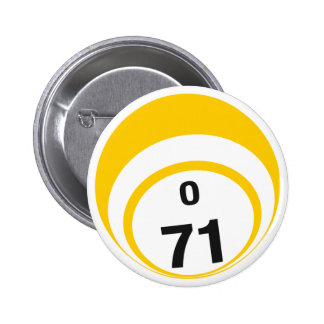 O71 Bingo Ball button