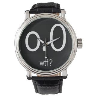 o.0 wtf? White Wristwatch