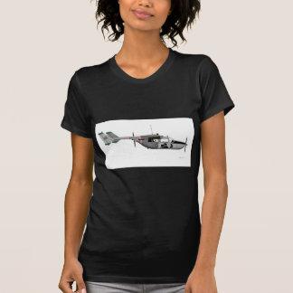 O-2 Skymaster estupendo de Cessna Camisetas