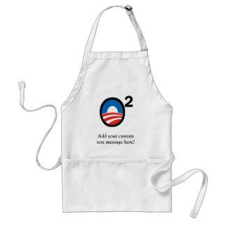 O ajustó el término de Obama en segundo lugar Delantal