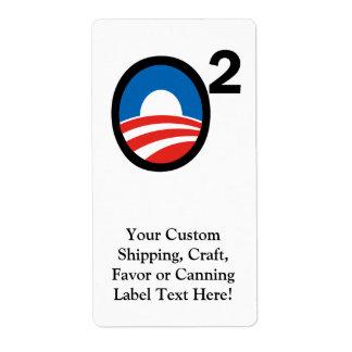 O ajustó el término de Obama en segundo lugar Etiqueta De Envío
