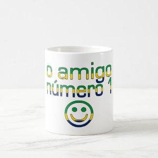 O Amigo Número 1 in Brazilian Flag Colors Coffee Mug