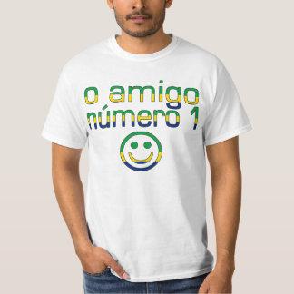 O Amigo Número 1 in Brazilian Flag Colors T-Shirt