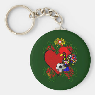 O Amor A Portugal - Selecção das Quinas Keychain