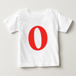 O And/Or Whole Musical Note Represented Baby T-Shirt