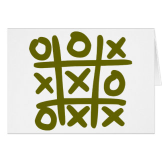 o and x card