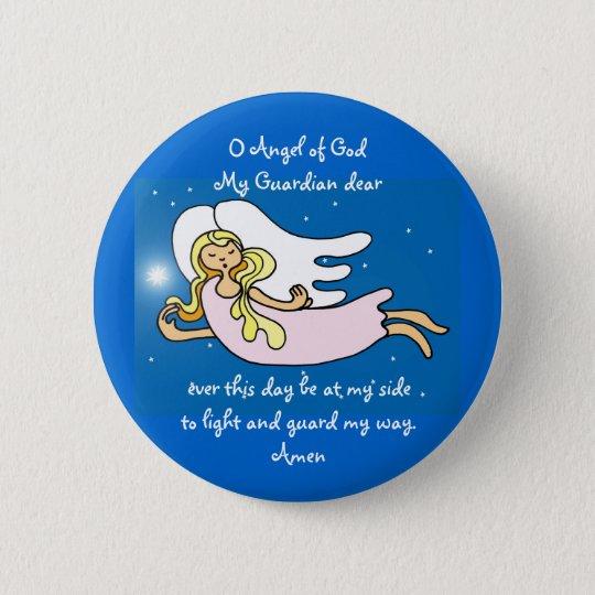 O Angel of God My Guardian dear Button