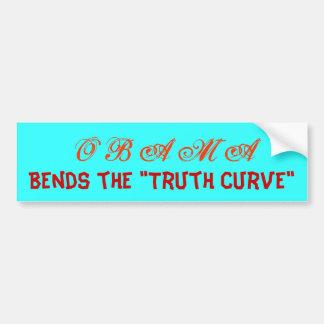 O B A M A (Truth?) Bumper Sticker