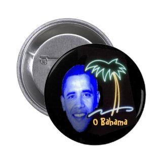 O Bahama Pin Redondo De 2 Pulgadas