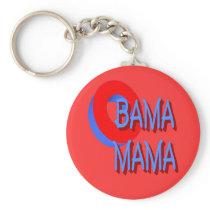 O Bama Mama Keychain