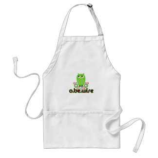 O Be Wise Adult Apron