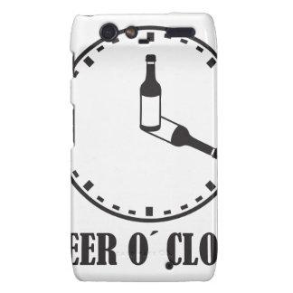 o beer clock droid RAZR fundas