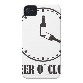 o beer clock Case-Mate iPhone 4 protectores