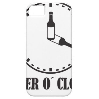o beer clock iPhone 5 funda