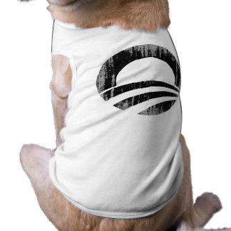 O black1 Vintage.png Doggie Tshirt