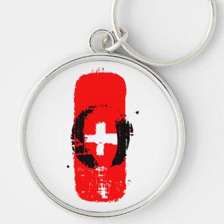 O+ Blood Type Keychain