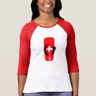 O+ blood type women tee