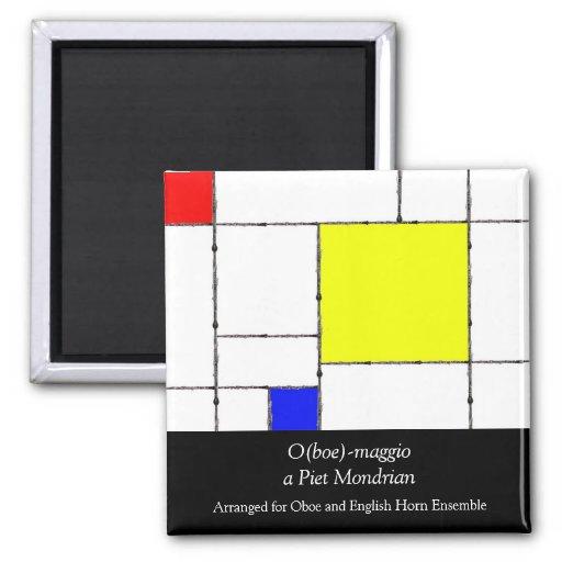 O (boe) - maggio un imán de Mondrian