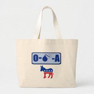 O-Bomb-A Obama Large Tote Bag