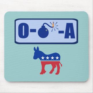 O-Bomb-A Obama Mouse Pad