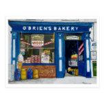 O´Brien`s Bakery Postcard