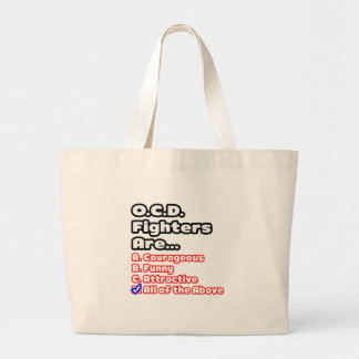 O.C.D. Fighter Quiz Canvas Bags