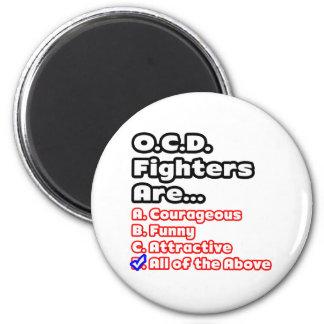 O.C.D. Fighter Quiz Fridge Magnet