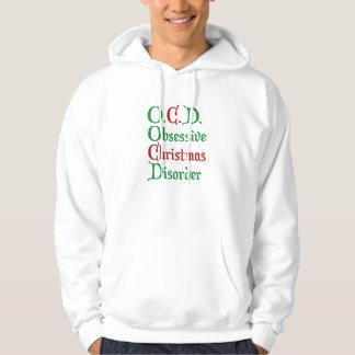 O.C.D. Obsessive Christmas Disorder Hoodie