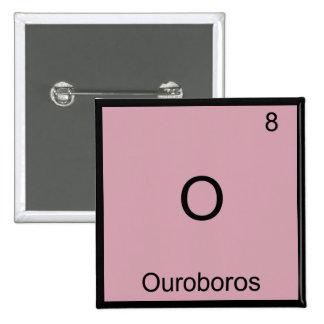 O - Camiseta divertida del símbolo del elemento de Pins
