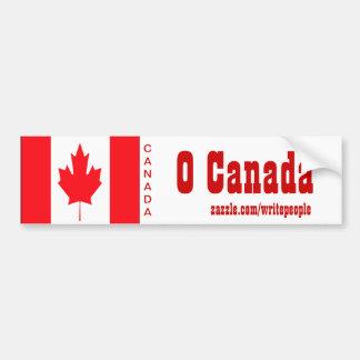 O canada bumper stickers