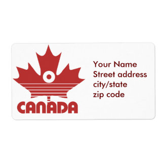 O Canada Day Label