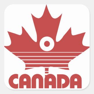 O Canada Day Square Sticker