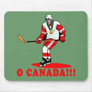 O Canada Hockey Gold Medal Mousepads